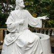 White Jesus statue — Stock Photo