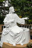 Statue de jésus blanc — Photo