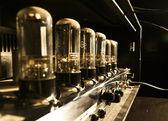 Tube guitar amplifier — Stock Photo