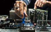 Computer repair — Stock fotografie