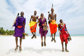 Maasai men — Stock Photo
