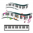 Piano keyboard — Stock Vector #12752819