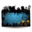 Halloween banner design - Stockvectorbeeld