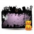 Halloween banner design — Stock Vector