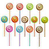 Lollipops — Stock Vector
