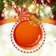 Royalty-Free Stock Vector Image: Christmas background with balls