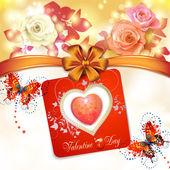 Walentynki karty — Wektor stockowy