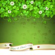 Saint Patrick's Day card - Grafika wektorowa