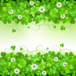 Stock Vector: Saint Patrick's Day background
