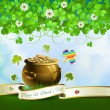 Saint Patrick's Day card — Stockvector