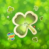 Saint Patrick's Day card — Wektor stockowy