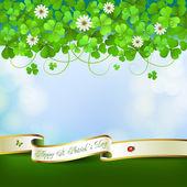 Saint Patrick's Day card — Stock Vector