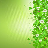 Saint Patrick's Day background — Stock Vector