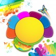 Royalty-Free Stock Obraz wektorowy: Colorful abstract background