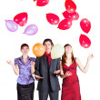 Corporate party with balloons — Stock Photo #49814877