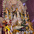 Goddess durga in durga puja — Stock Photo