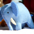 Elephant toy in surajkund fair — Stock Photo