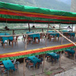 Restaurant in Manali, India — Stock Photo