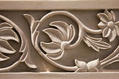Carving pattern in jain temple — Stock Photo