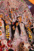 Goddess pandal in durga puja — Photo