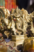 Lord krishna statue — Stock Photo