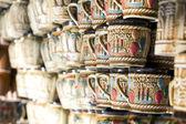 Happy birthday on handicraftcup in surajkund mela — Stock Photo
