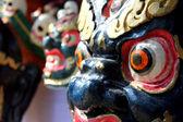Dragon mask in surajkund fair — Stock Photo