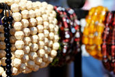 Bead bangles in shop of surajkund fair — Stock Photo