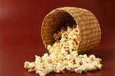 Popcorn in bowl — Photo