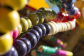 Multicolor of beads chain — Stockfoto