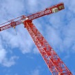 Stock Photo: Photo of hoisting crane