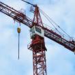 A photo of a hoisting crane — Lizenzfreies Foto