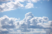 A telephoto of a clouds — Stock Photo