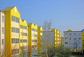 A photo of social housing in Denmark — Stock Photo