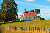 A photo of a Christian Church in New Zealand — Stock Photo