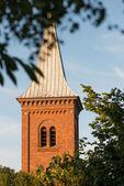 A photo of a Danish church — Stock Photo
