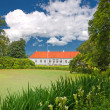Stock Photo: Old Danish manor house