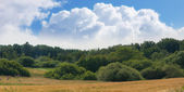 A landscape photo of hills — Stock Photo