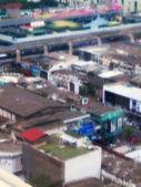En rörelse suddig belysande för bangkok — Stockfoto