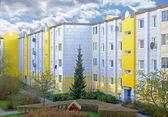 Una foto di alloggi sociali in danimarca — Foto Stock