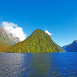 Постер, плакат: A photo from Milford Sounds New Zealand