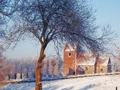 Danimarka kilise fotoğraf — Stok fotoğraf