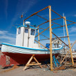 Stock Photo: A photo of a fishing boat