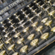 An old and dusty typewriter — Stockfoto