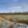 A photo of Early winter landscape in the countryside — Stock Photo #19783017