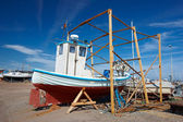 A photo of a fishing boat — Stock Photo