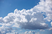 A photo of september clouds — Stock Photo