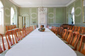 A photo of an classic dinning hall — Stock Photo