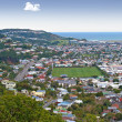 A city scape of Wellington, New Zealand — Stock Photo