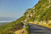 A photo of mountain road near the coast, Cape Town area — Stock Photo